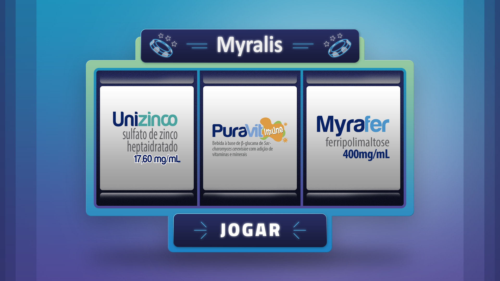 JOGO MYRALIS